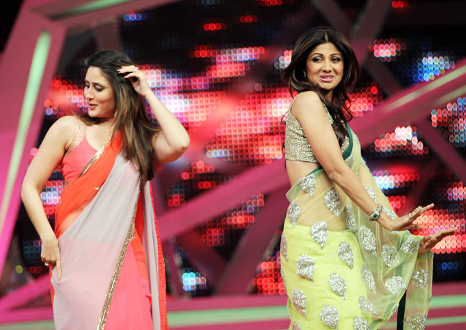 Kareena Kapoor and Shilpa Shetty