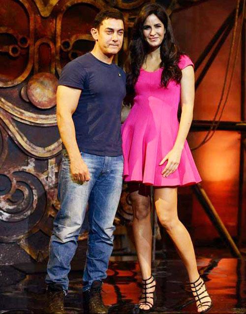 Aamir Khan and Katrina Kaif