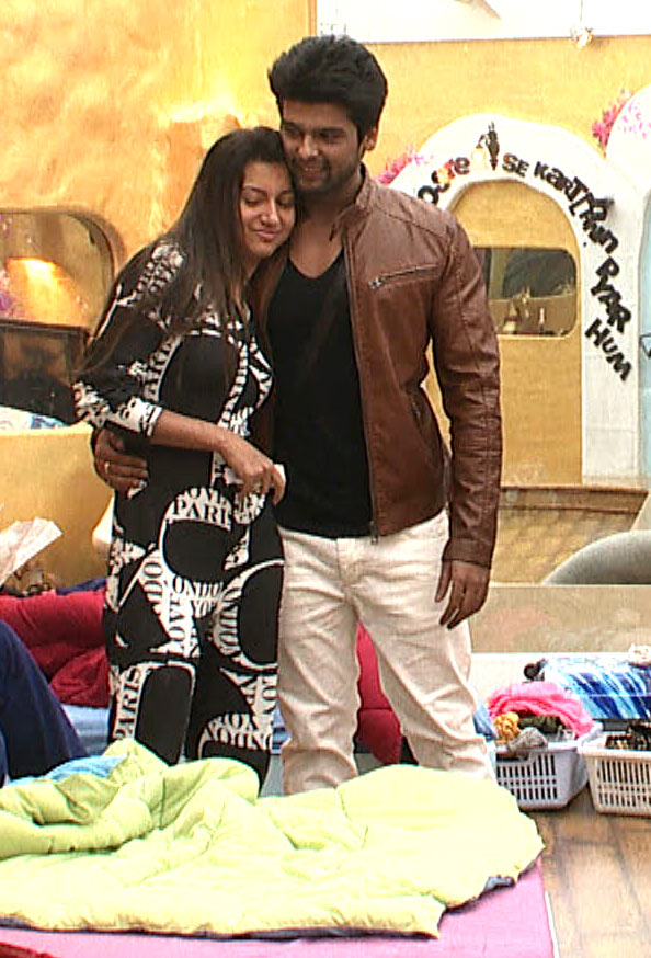 Gauahar Khan and Kushal Tandon