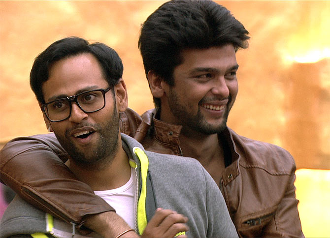 Andy and Kushal