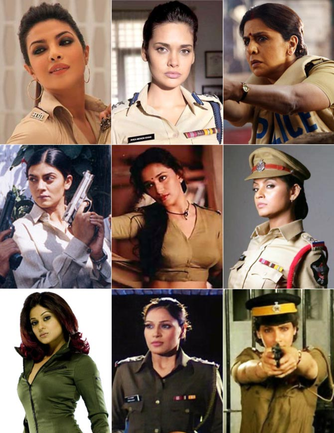 Bollywood's SEXIEST female cops? VOTE!