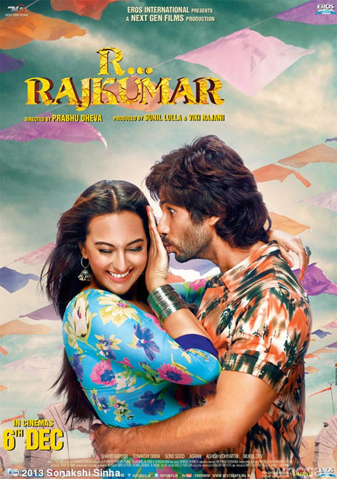 Movie poster of R... Rajkumar