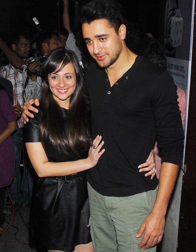 Avantika and Imran Khan
