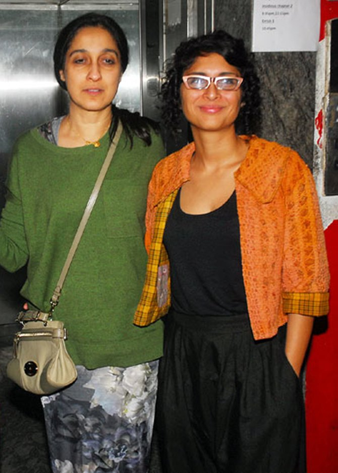Nuzhat Aziz and Kiran Rao