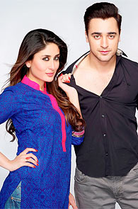 Kareena Kapoor and Imran Khan in Gori Tere Pyaar Mein