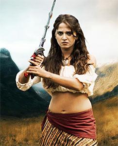Anushka Shetty in Irandam Ulagam