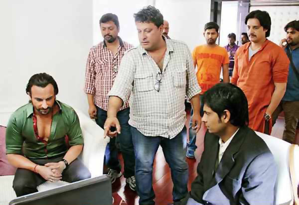 Saif ALi Khan, Tigmanshu Dhulia and Jimmy Shergill