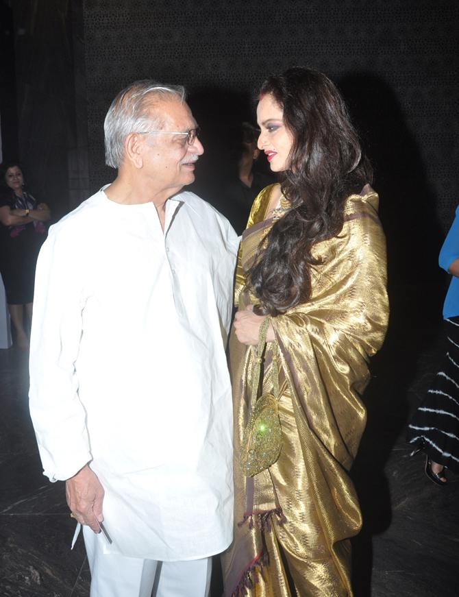 Gulzar and Rekha