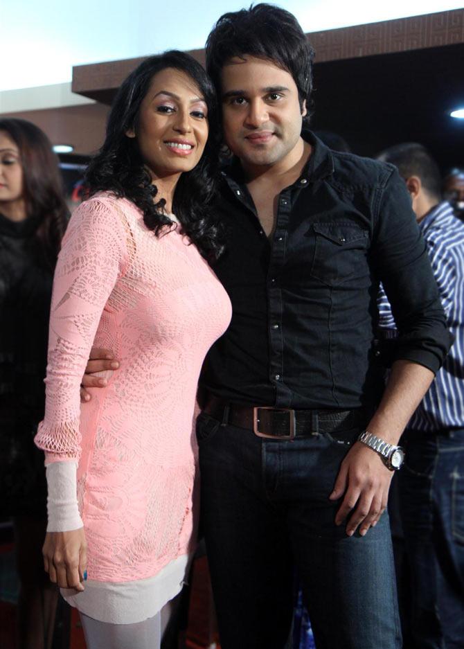 Kashmera Shah and Krushna Abhishek