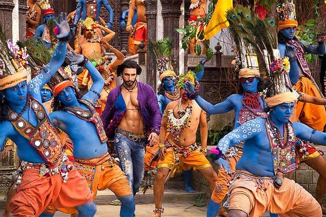 Ranveer Singh in Ram Leela