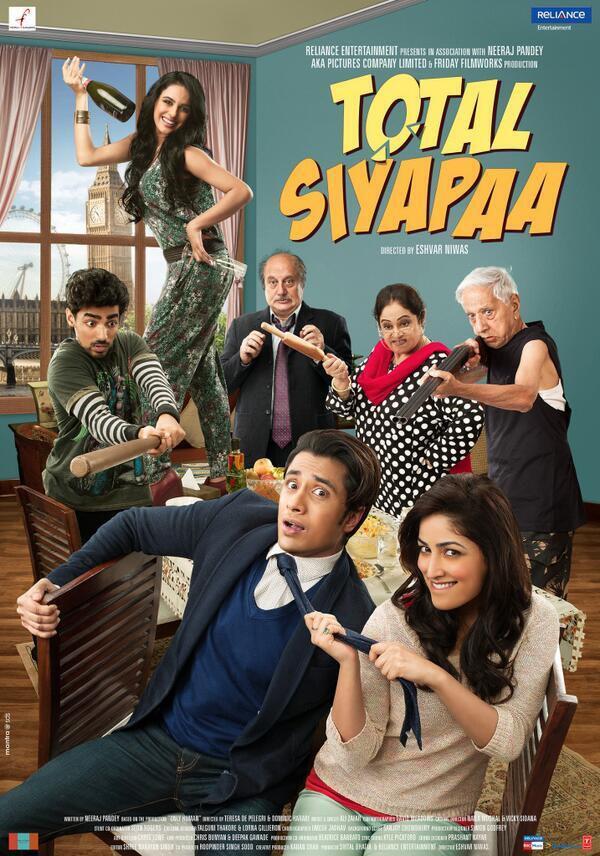 Movie poster of Total Siyappa