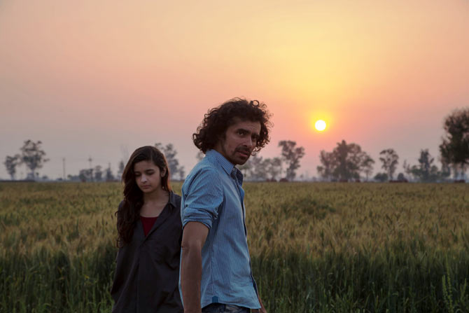 Alia Bhatt and Imtiaz Ali shoot Highway in Punjab
