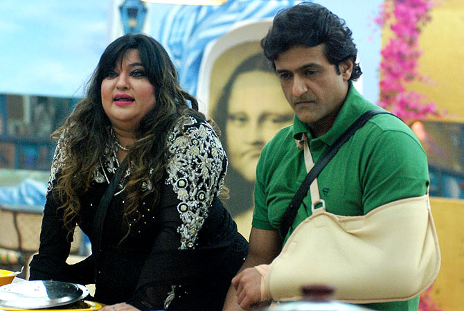 Dolly Bindra and Armaan Kohli