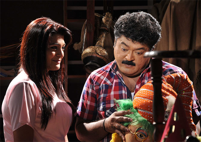 A scene from Cool Ganesha