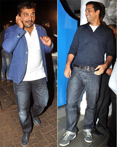 Anurag Kashyap and Vikramaditya Motwane