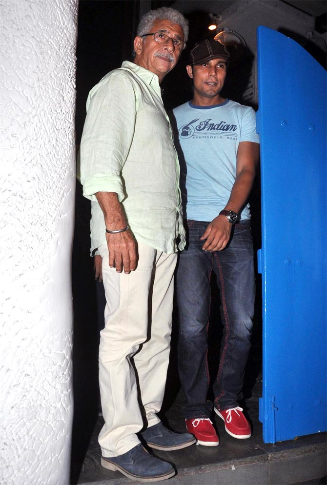 Naseeruddin Shah and Randeep Hooda