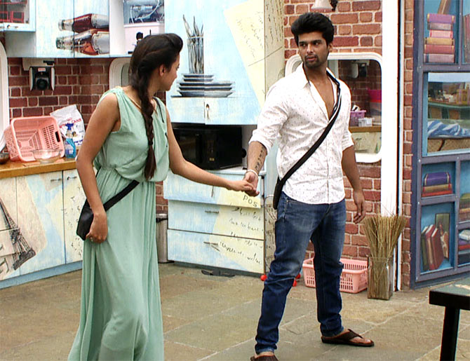 Gauahar and Kushal