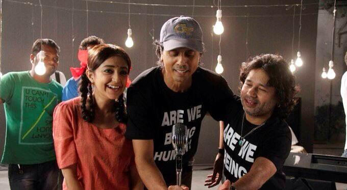 Monali Thakur, Nagesh Kuknoor, Kailash Kher