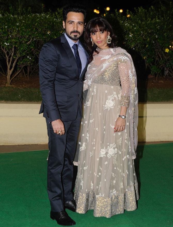 Emraan Hashmi and Parveen Shahni