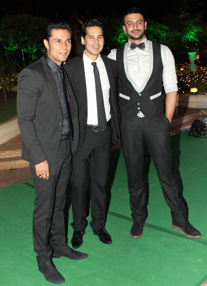 Randeep Hooda, Dino Morea and Arunoday Singh