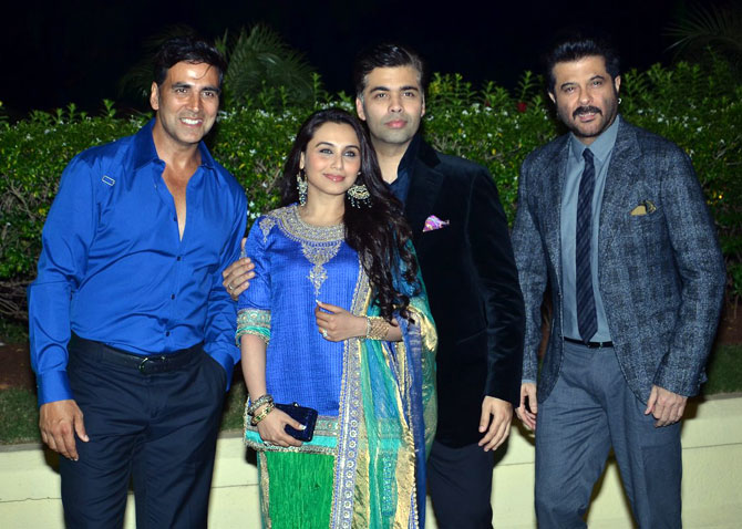 Akshay Kumar, Rani Mukerji and Anil Kapoor