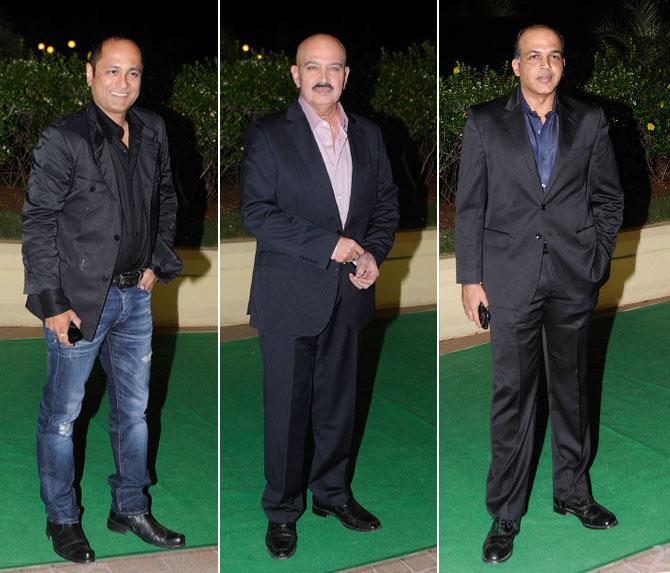 Vipul Shah, Rakesh Roshan and Ashutosh Gowariker
