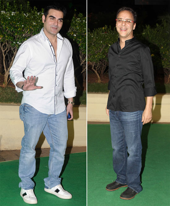 Arbaaz Khan and Vidhu Vinod Chopra