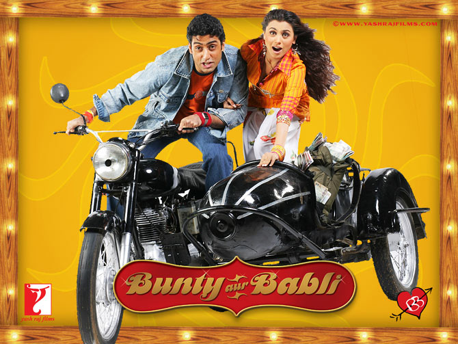 Movie poster of Bunty Aur Babli