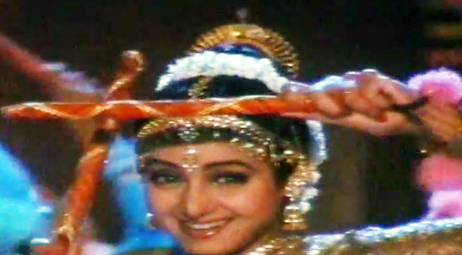 Sridevi in Chand Ka Tukda