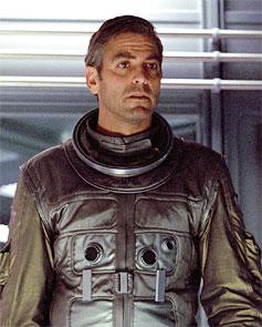 Geroge Clooney in Gravity
