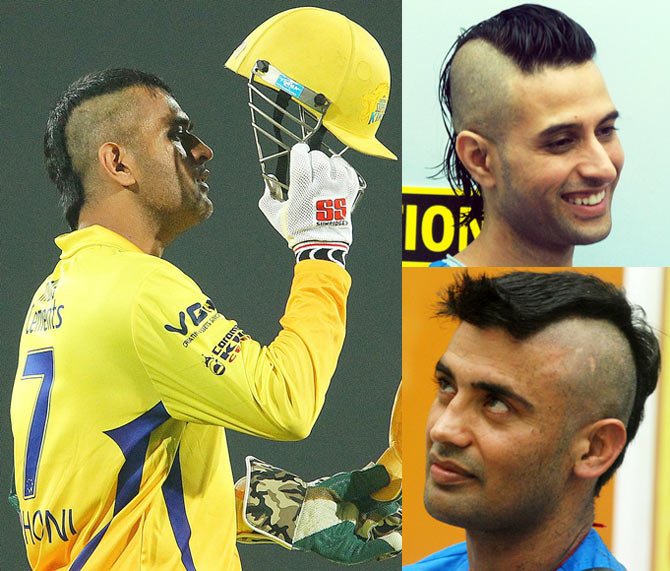 Apoorva, Sangram or Dhoni: BEST mohawk? VOTE!