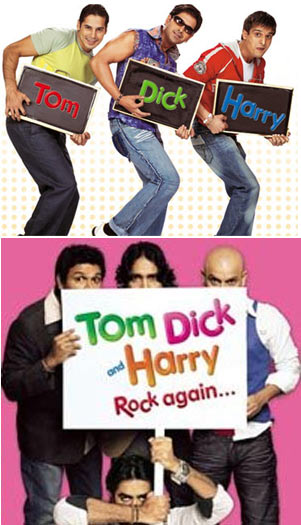 Posters of Tom, Dick and Harry - Tom, Dick, and Harry, Rock Again