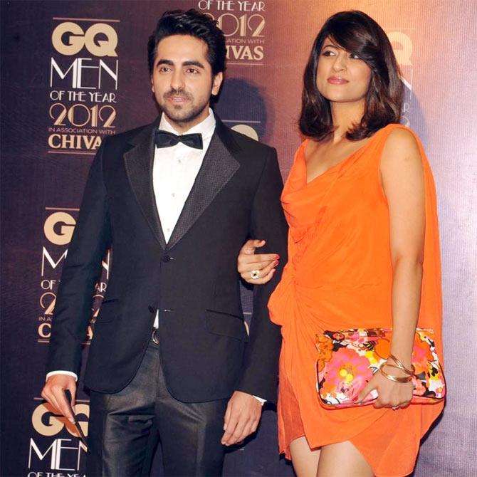 Ayushmann Khurrana along with wife Tahira Kashyap