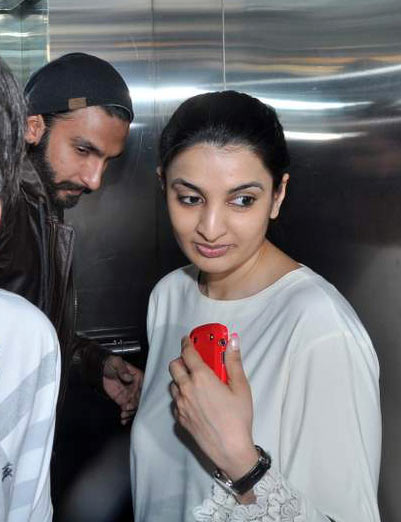Ranveer with sister Ritika