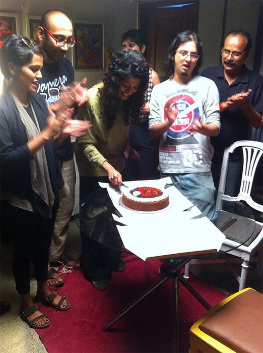 Paoli Dam with her family and friends
