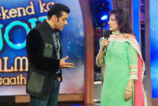 Salman Khan and Anita Advani