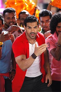 John Abraham in Welcome Back