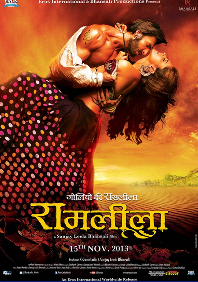 Movie poster of Ram Leela