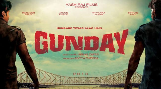 Movie poster of Gunday