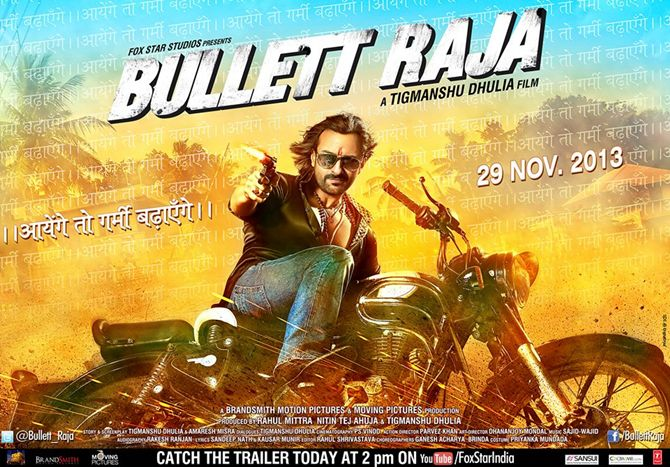 Movie poster of Bullett Raja