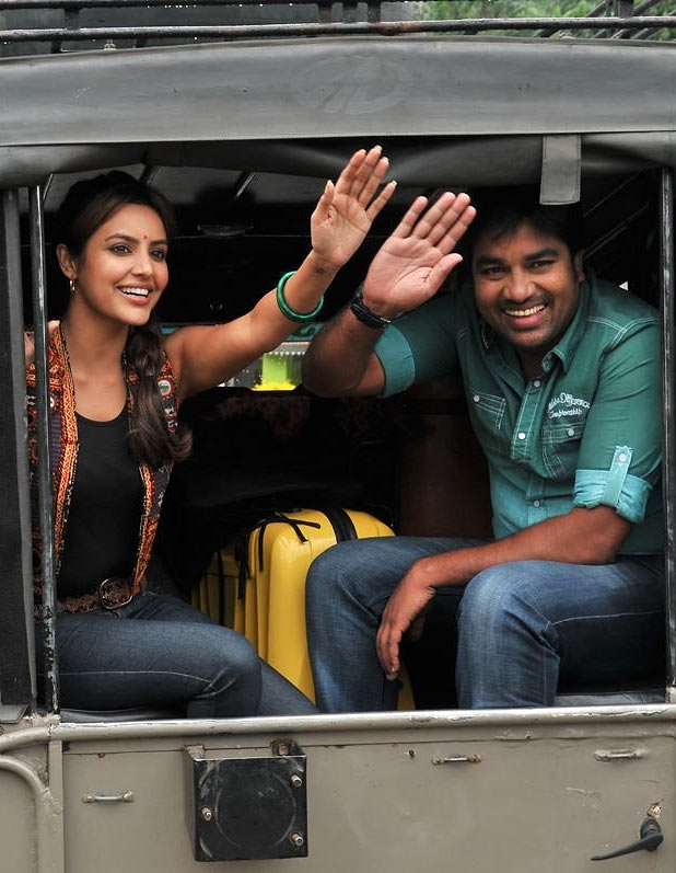 Priya Anand and Shiva in Vanakkam Chennai