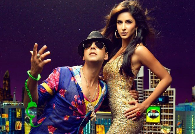 Akshay Kumar and Katrina Kaif in Tees Maar Khan