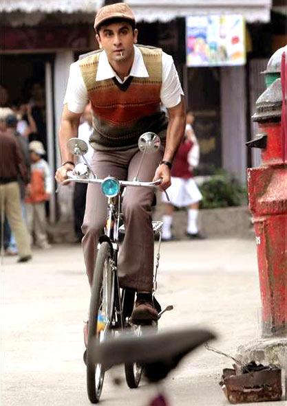Ranbir Kapoor in Barfi!