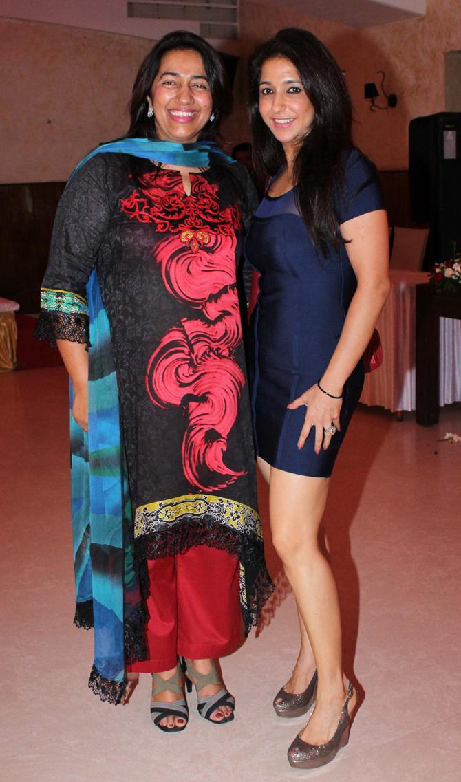 Krishika Lulla with Anu Ranjan