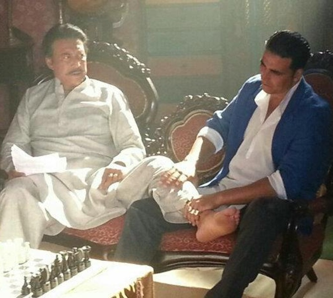 Daany Denzongpa and Akshay Kumar in Boss