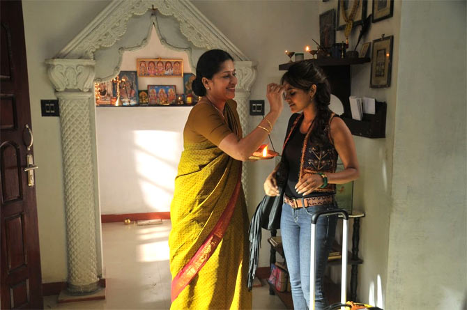 A scene from Vanakkam Chennai