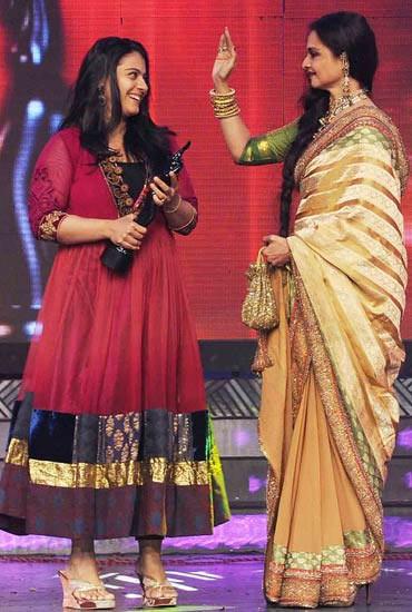 Kajol and Rekha