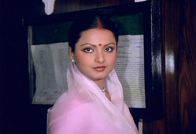 Rekha in Ghar