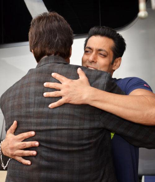 Amitabh Bachchan and Salman