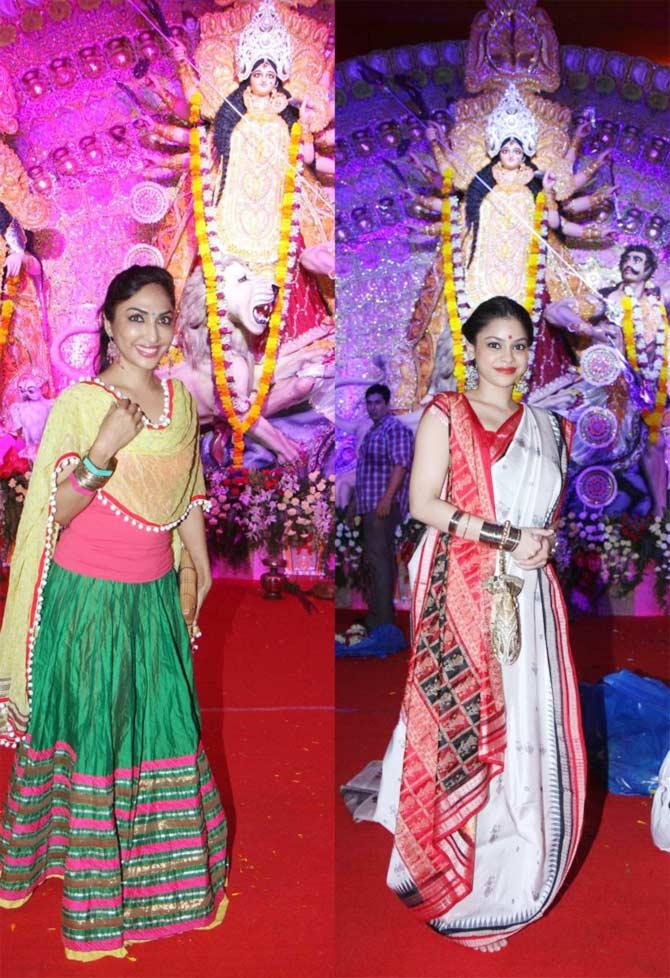 Mouli Ganguly and Sumona Chakravarti